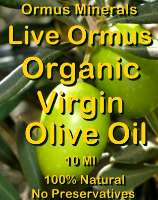 Ormus Minerals -Live Ormus Organic Virgin Olive Oil
